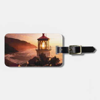 The Lighthouse View Luggage Tag