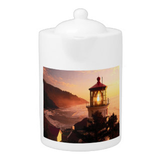 The Lighthouse View Teapot