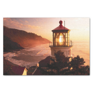 The Lighthouse View Tissue Paper