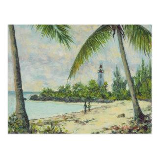 The Lighthouse Zanzibar 1995 Postcard