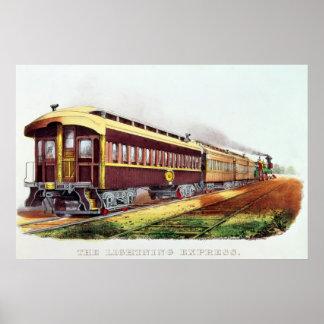 The Lightning Express Poster