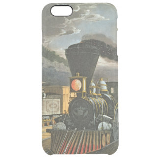 The Lightning Express Trains, 1863 Clear iPhone 6 Plus Case