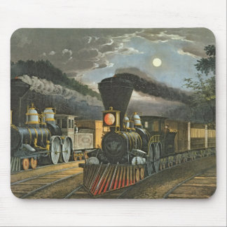 The Lightning Express Trains, 1863 Mouse Pad