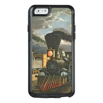 The Lightning Express Trains  1863 Otterbox Iphone 6/6s Case by bridgemanimages at Zazzle