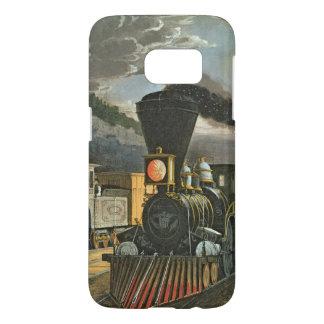 The Lightning Express Trains, 1863 Samsung Galaxy S7 Case