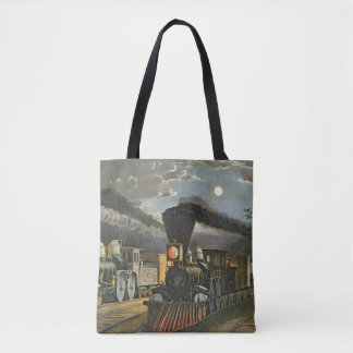 The Lightning Express Trains, 1863 Tote Bag