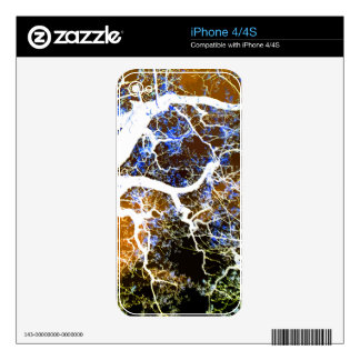 THE LIGHTNING TREE 2 SKINS FOR iPhone 4S