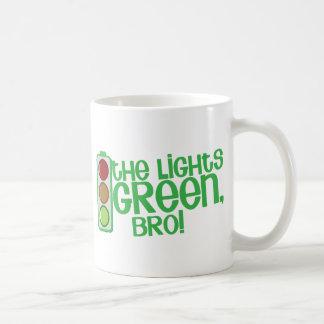The lights GREEN Bro! Kiwi New Zealand funny Classic White Coffee Mug
