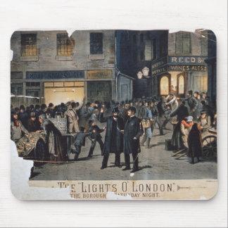 'The Lights O' London' (colour litho) Mouse Pad
