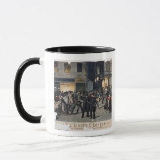 'The Lights O' London' (colour litho) Mug