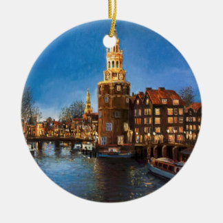 The Lights of Amsterdam Christmas Ornaments