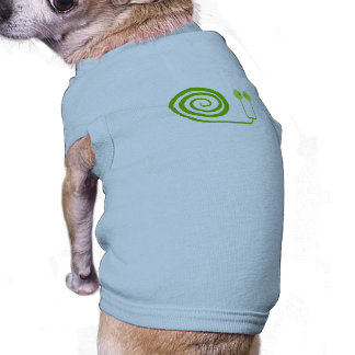"""The likeable snail with spiral, """"Face of Cabbage """" T-Shirt"""