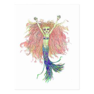 The Lil Mermaid Fae Postcard