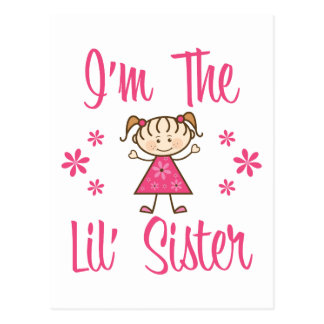 The Lil' Sister Postcard