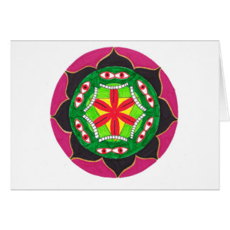 The Lila of Kali Greeting Card