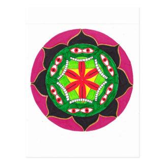 The Lila of Kali Postcard