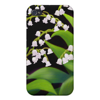 The Lily of the Valley Floral Speck Case