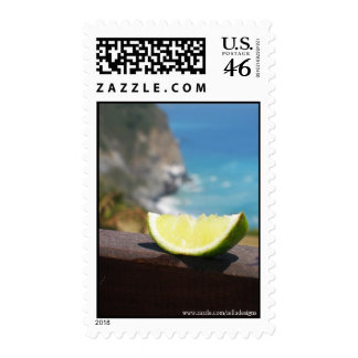 The Lime Postage Stamp
