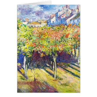 The Limes at Poissy Claude Monet cool, old, master Card
