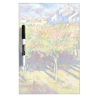 The Limes at Poissy Claude Monet cool, old, master Dry-Erase Board
