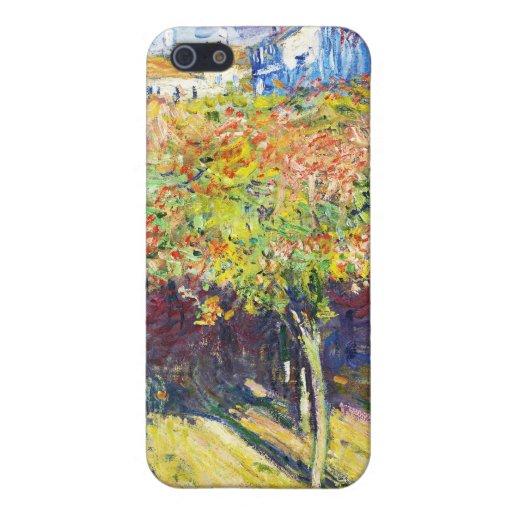 The Limes at Poissy Claude Monet cool, old, master iPhone 5 Case