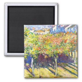 The Limes at Poissy Claude Monet cool, old, master Refrigerator Magnet