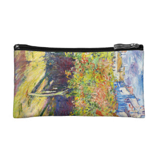 The Limes at Poissy Claude Monet cool, old, master Makeup Bag