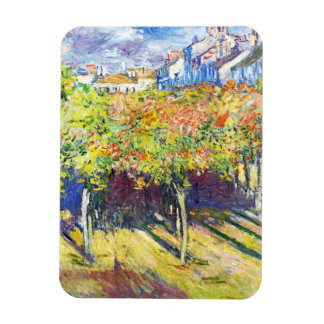 The Limes at Poissy Claude Monet cool, old, master Magnets