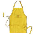 The Limit Does Not Exist.. Just Like God Apron