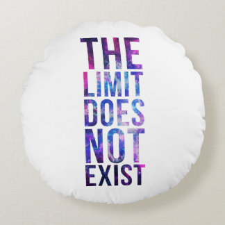 The limit does not exist. round pillow