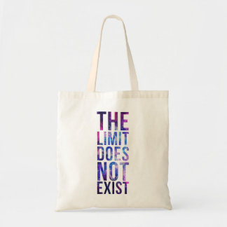 The limit does not exist. tote bag