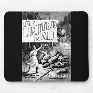 The Limited Mail  1899 - A Railroad Play. Mouse Pad