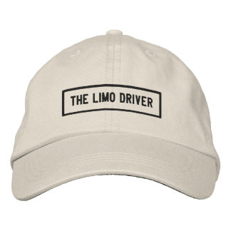 The Limo Driver Headline Embroidery Embroidered Baseball Hat
