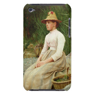 The Limpet Gatherer (oil on canvas) iPod Case-Mate Case