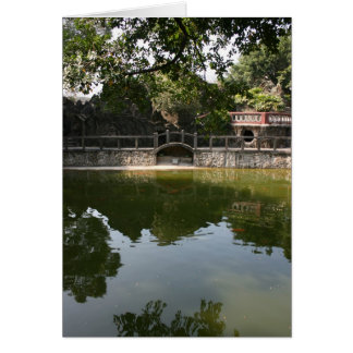 The Lin Family Mansion and Garden, Taipei Greeting Card