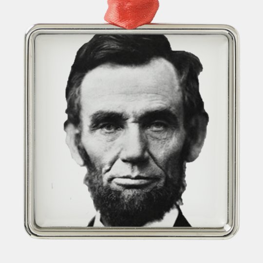 the Lincoln abraham Metal Ornament
