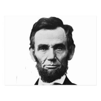 the Lincoln abraham Postcard