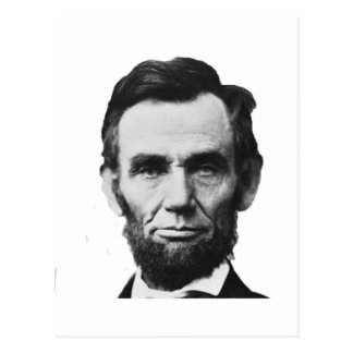 the Lincoln abraham Postcards