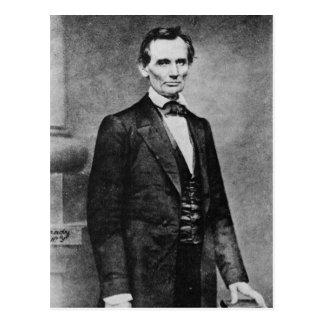 The Lincoln Cooper Union Portrait ~ 1860 Postcard