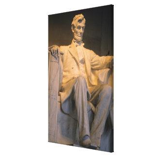 The Lincoln Memorial in Washington DC. Canvas Print
