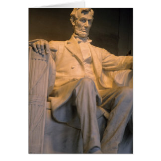 The Lincoln Memorial in Washington DC Cards