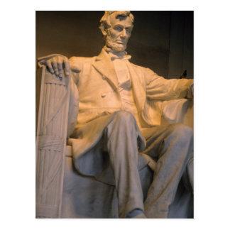 The Lincoln Memorial in Washington DC. Postcard