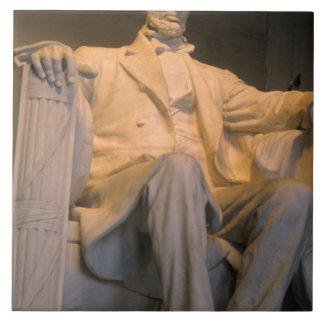The Lincoln Memorial in Washington DC. Ceramic Tile