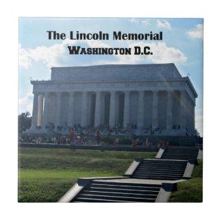 The Lincoln Memorial Small Square Tile