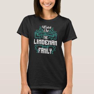 The LINDEMAN Family. Gift Birthday T-Shirt