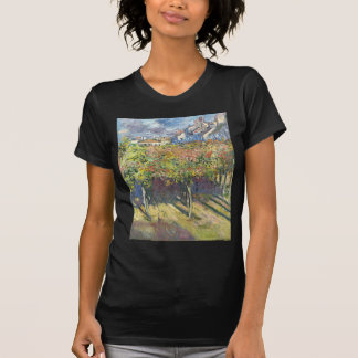 The Lindens of Poissy by Claude Monet Tee Shirt