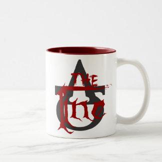 The Line logo mug