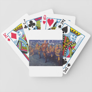 The Line of Fire by Kuzma Petrov-Vodkin Bicycle Playing Cards