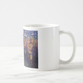 The Line of Fire by Kuzma Petrov-Vodkin Classic White Coffee Mug