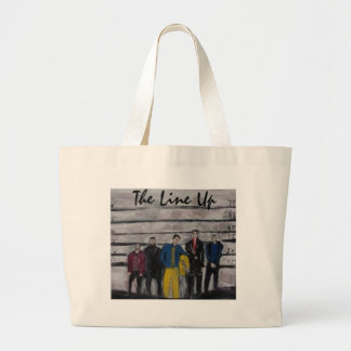 The Line Up Canvas Bag